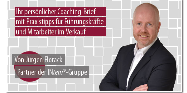Jürgen Florack - Coaching-Brief GOVEND